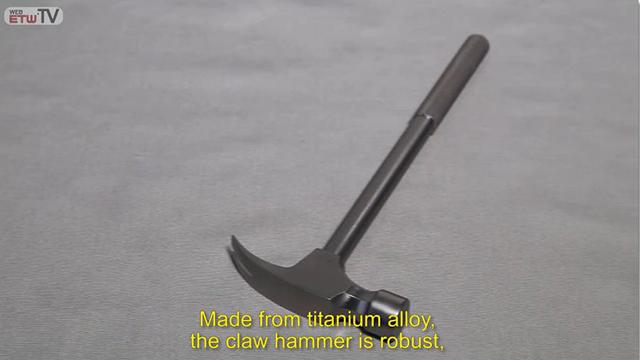 Titanium Alloy Claw Hammer